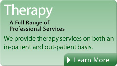 In-patient and Out-patient Therapy Services